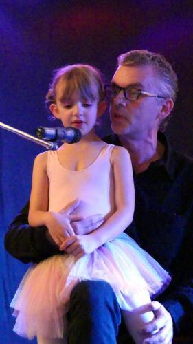 Danny met zijn dochter